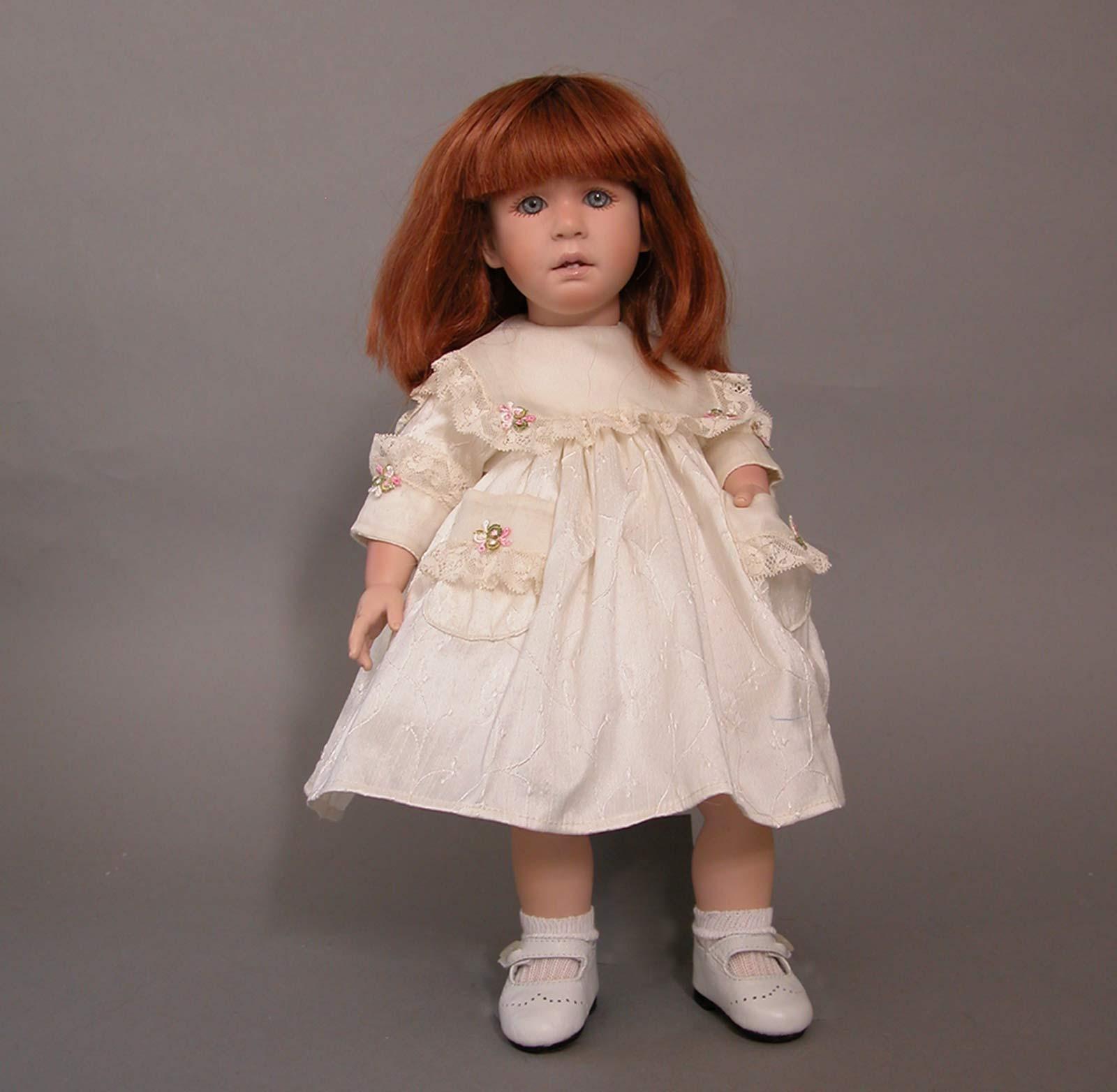 Ruth Treffeisen Doll Studio Carla Carla s and her enchanting